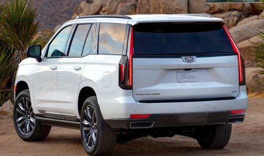 Why The 2021 Cadillac Escalade Doesn't Have Horizontal Tail Lamps