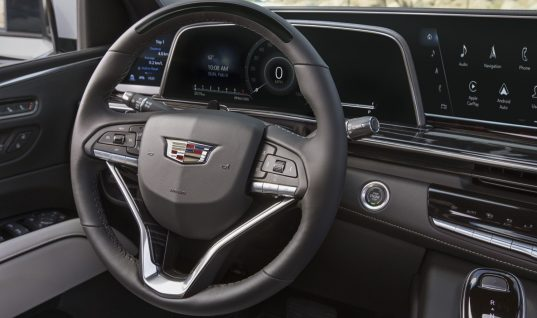 Cadillac Escalade Shows Off Its Control Panel And Cluster Display: Video
