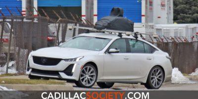 Does This Cadillac CT5 Prototype Have Ultra Cruise Autonomous Vehicle Hardware?