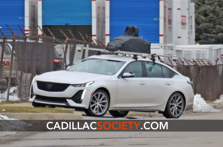 Does This Cadillac CT5 Prototype Have Ultra Cruise Autonomous Vehicle Hardware?