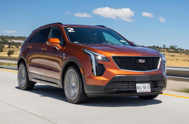 2021 Cadillac XT4 Sport Gains Red Brake Calipers
