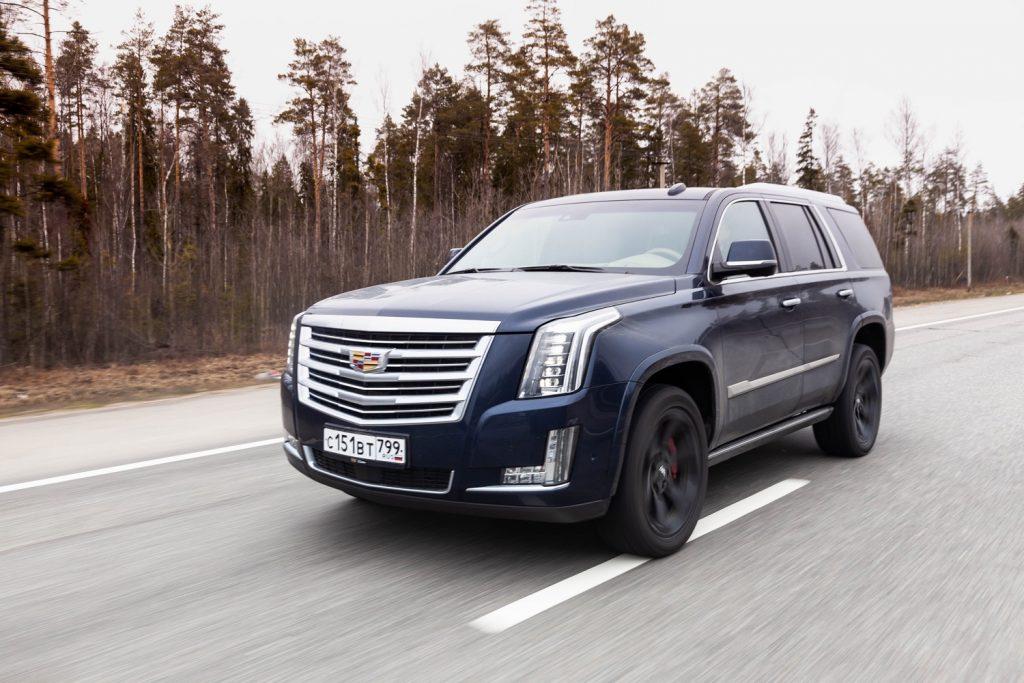 Cadillac Escalade in Russia