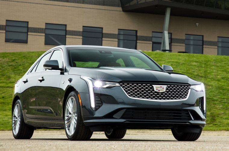 Some Cadillac CT4 Models With 2.7L Engine Ship With Incorrect 450T Badge