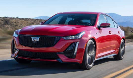 First Units Of Cadillac CT5-V Begin To Arrive At Dealers
