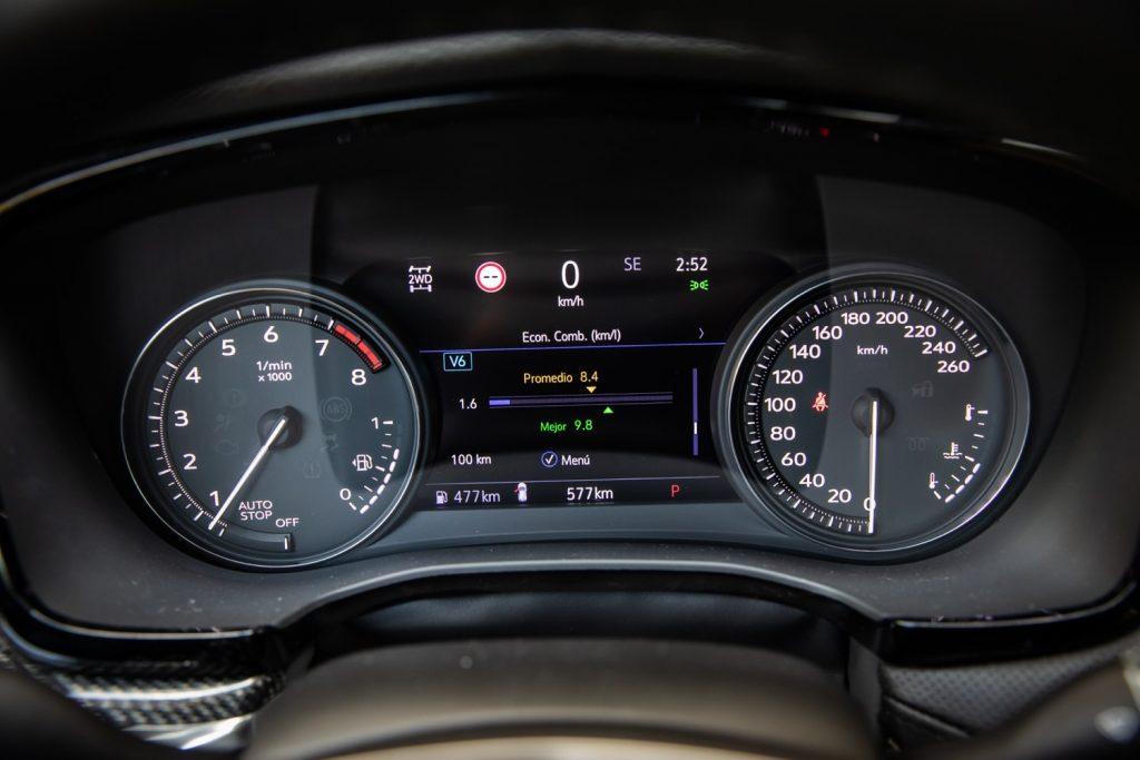Uplevel gauge cluster on 2020 Cadillac XT5