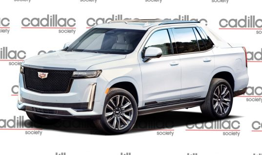 2021 Cadillac Escalade EXT Rendered