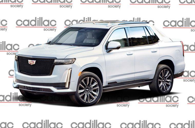 2021 Cadillac Escalade EXT Rendered