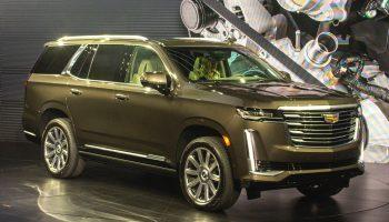 2021 Cadillac Escalade Towing Capacity Revealed