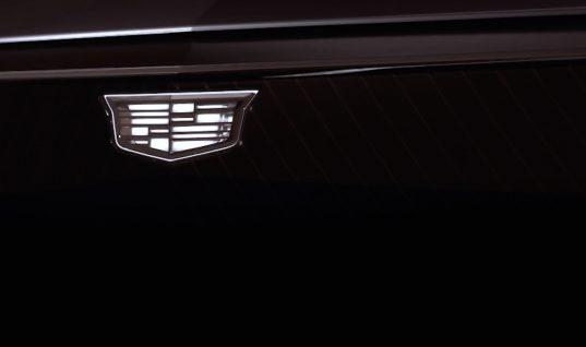 Light-Up Cadillac Logo Teased By Cadillac Lyriq Concept: Video