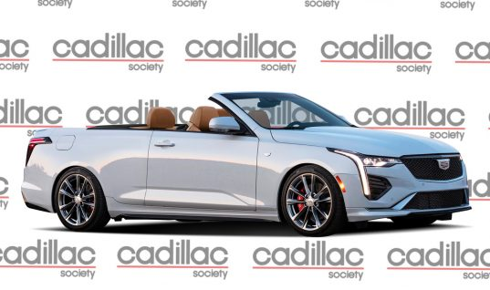 We Render The Cadillac CT4-V Convertible