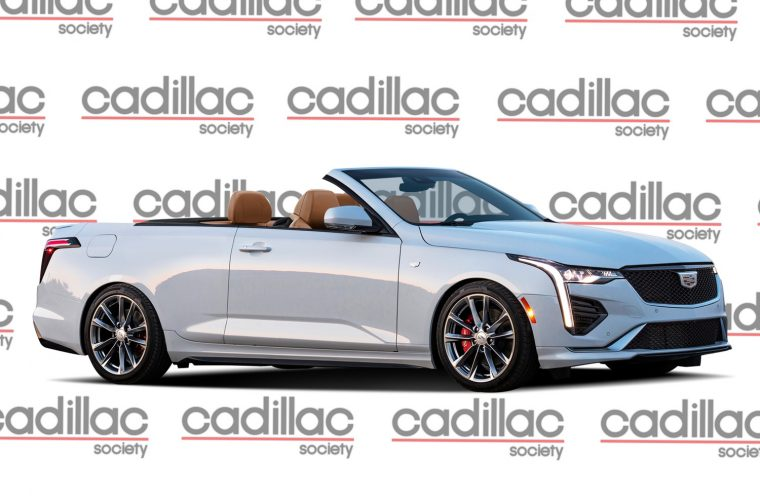 We Render The Cadillac CT4-V Convertible
