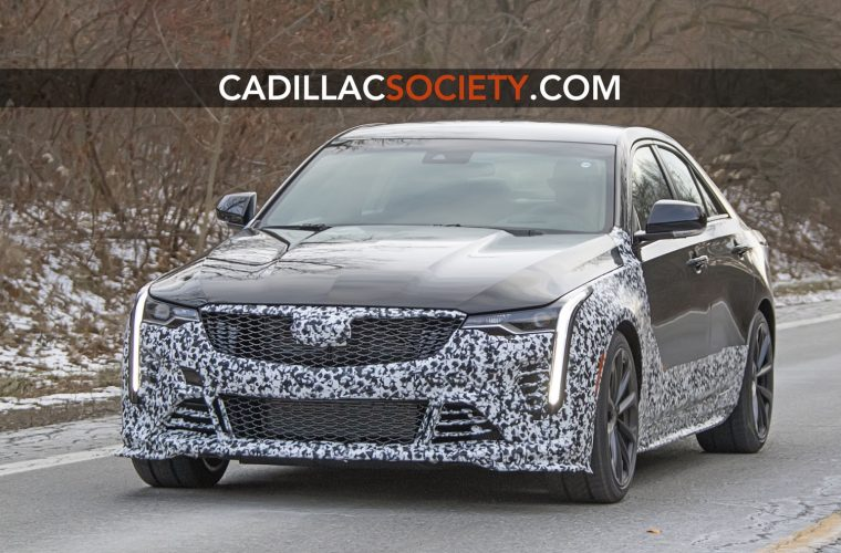 Next-Level Cadillac CT4-V Prototype Gives Us Our Best Look Yet