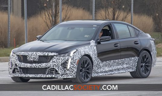 Next-Level Cadillac CT5-V Spotted Looking Aggressive On Public Streets