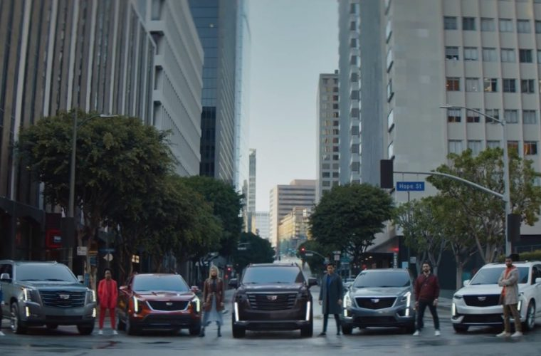 No Barriers Ad Showcases Entire 2021 Cadillac Lineup: Video
