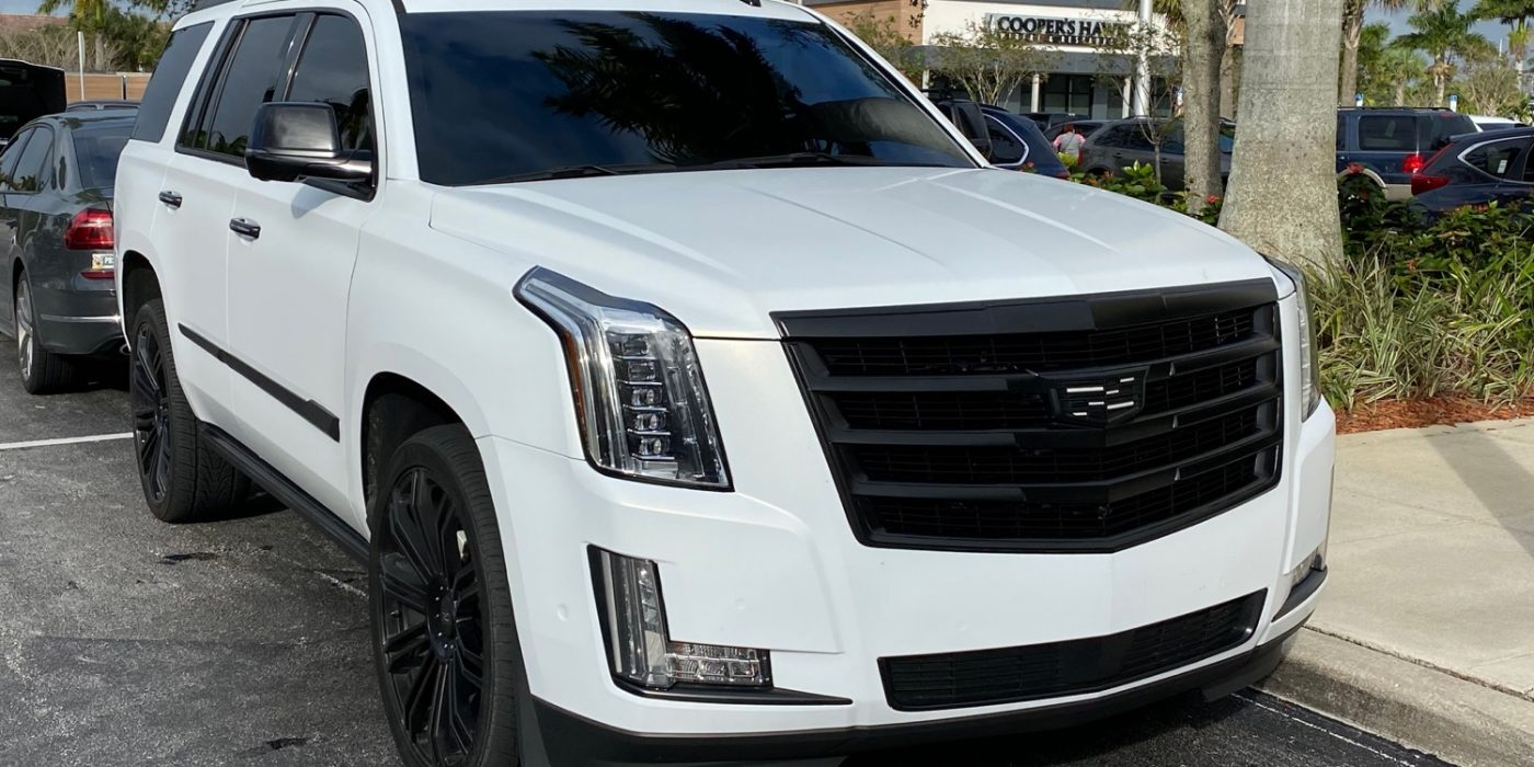 Custom Cadillac Escalade Looks Like Precursor To 2021 Sport Trim Level