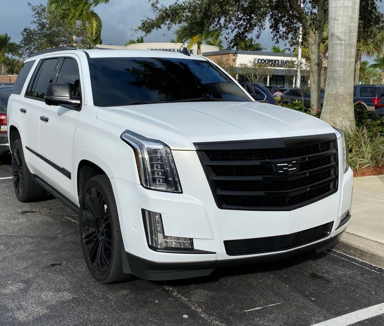 Custom Cadillac Escalade Looks Like Precursor To 2021 Sport Trim Level