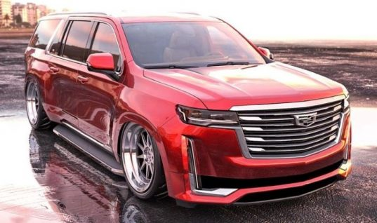2021 Cadillac Escalade Looks Surprisingly Good As A Custom Lowrider