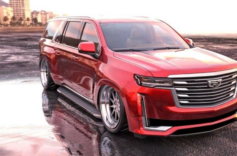 2021 Cadillac Escalade Looks Surprisingly Good As A Custom Lowrider