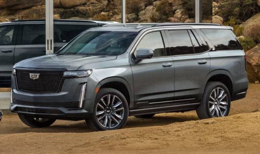 All-New 2021 Cadillac Escalade Transacting Well Above $100,000