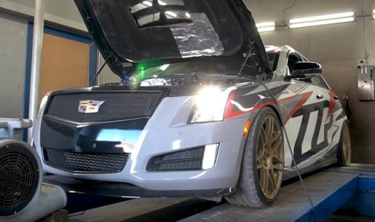 ZZPerformance Squeezes 511 HP Out Of Cadillac ATS LTG Engine: Video