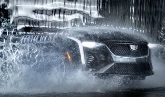 Cadillac CT4 Ad Makes Quite The Splash: Video