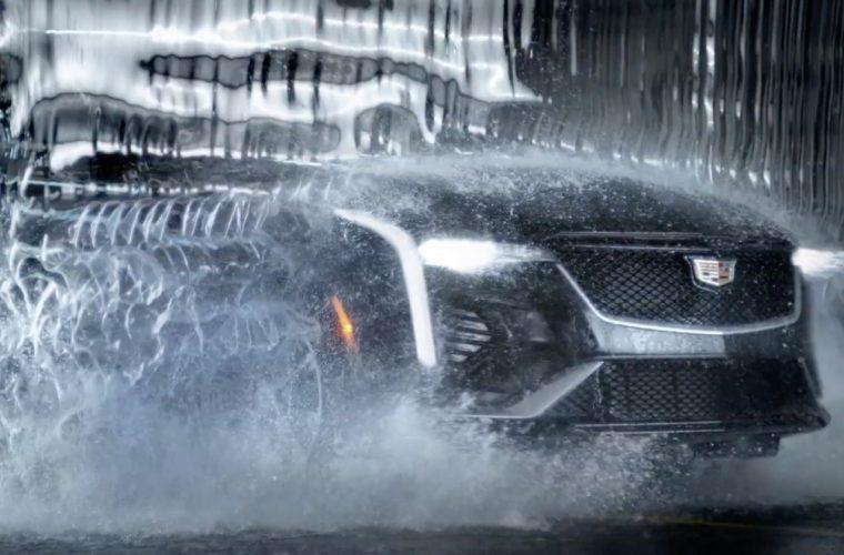 Cadillac CT4 Ad Makes Quite The Splash: Video