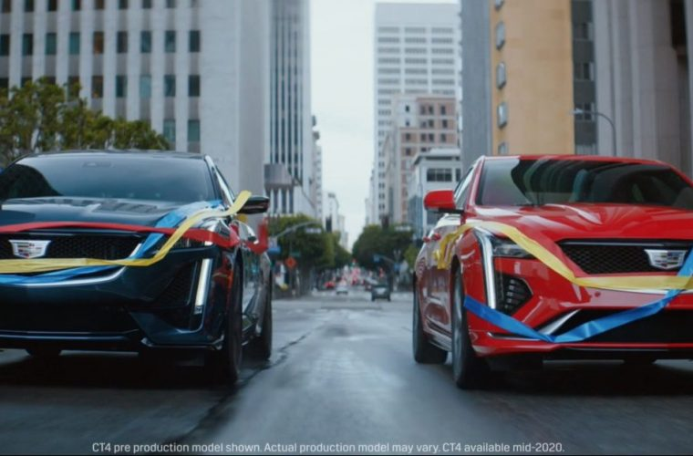 Cadillac CT4, CT5 Race To The Finish Line In Ad: Video