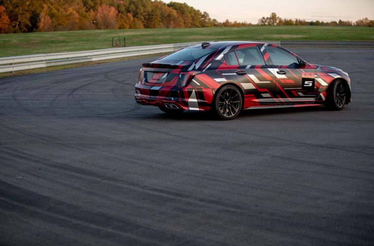 Listen To The Cadillac CT5-V Blackwing Accelerate At WOT: Video
