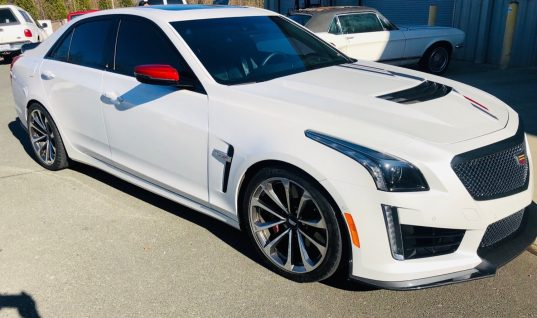 2018 Cadillac CTS-V Championship Edition Headed To Auction
