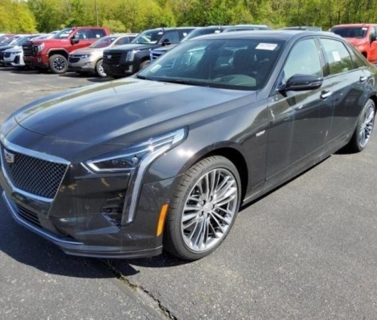 Almost-New 2019 Cadillac CT6-V Up For Sale