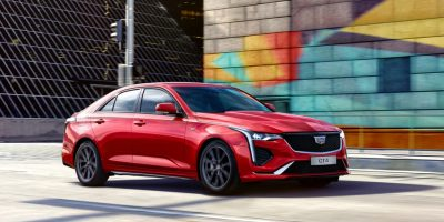 Cadillac CT4 Sport: Live Photo Gallery
