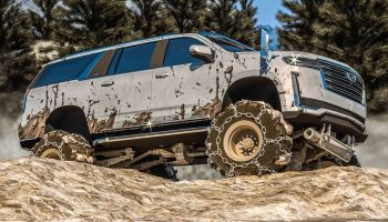 Off-Roader 2021 Cadillac Escalade Rendering Trades Posh For Grit