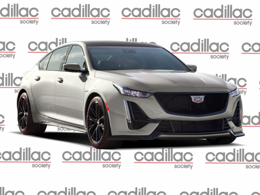 Cadillac CT5-V Blackwing Rendering - front three quarters