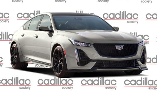 New Cadillac CT5-V Blackwing Renderings Preview Future Super Sedan