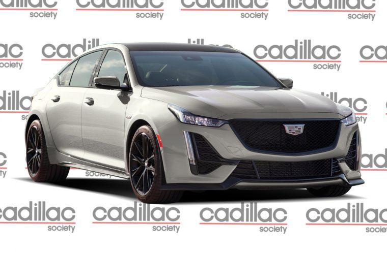 New Cadillac CT5-V Blackwing Renderings Preview Future Super Sedan