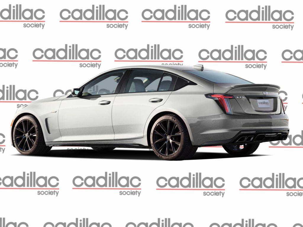 Cadillac CT5-V Blackwing Rendering - rear three quarters