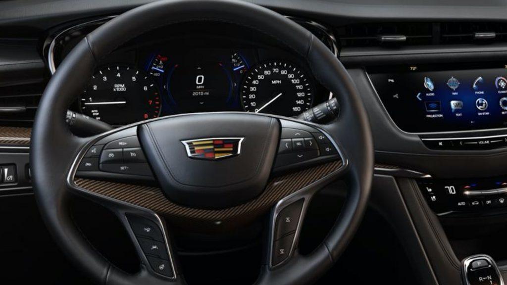 Uplevel gauge cluster on 2017-2019 Cadillac XT5