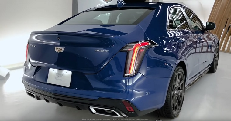 2020 Cadillac CT4 in Cadillac Live showroom