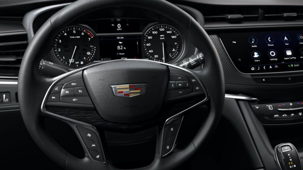 Base gauge cluster on 2020 Cadillac XT5