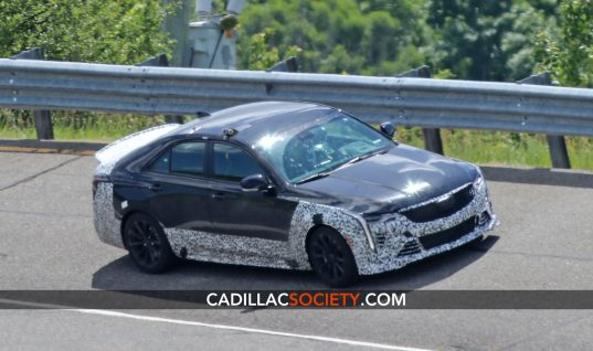 Yet Another Cadillac CT4-V Blackwing Prototype Caught Testing