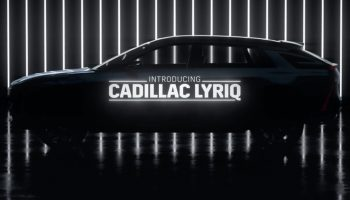 Cadillac Lyriq EV Crossover Will Boast 33-Inch OLED Display