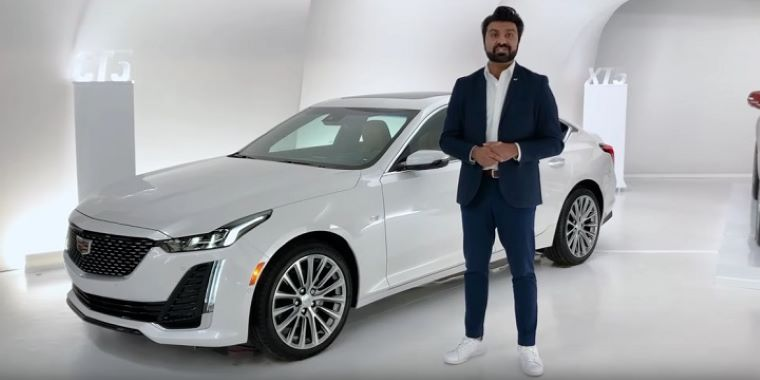Cadillac CT5 walkaround tour
