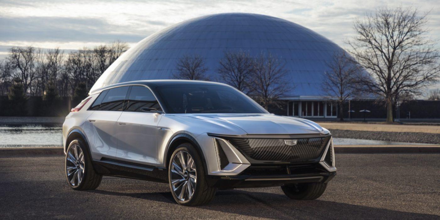 Cadillac Lyriq Show Car Previews The Future
