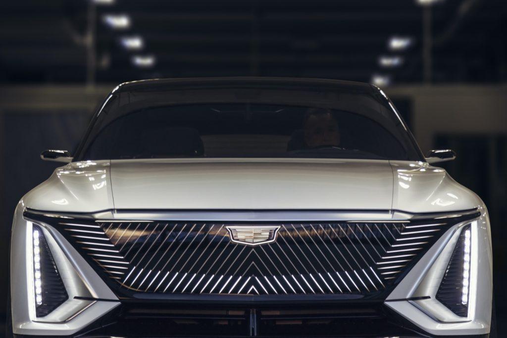 Cadillac Lyriq show car