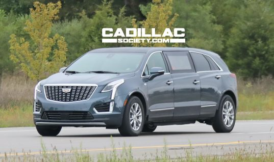 Details On The Cadillac XT5 Limousine Come To Light