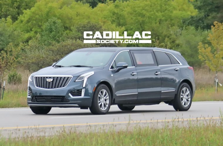Cadillac XT5 Limo Prototype Spied Undergoing Testing