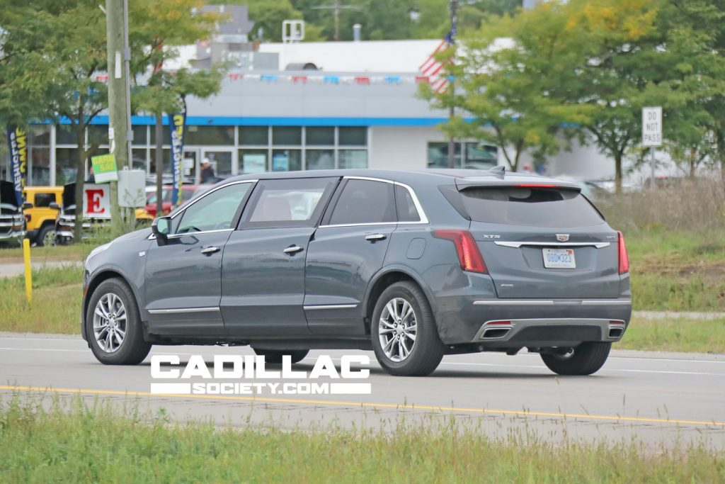 XT5 limo prototype pictured here.
