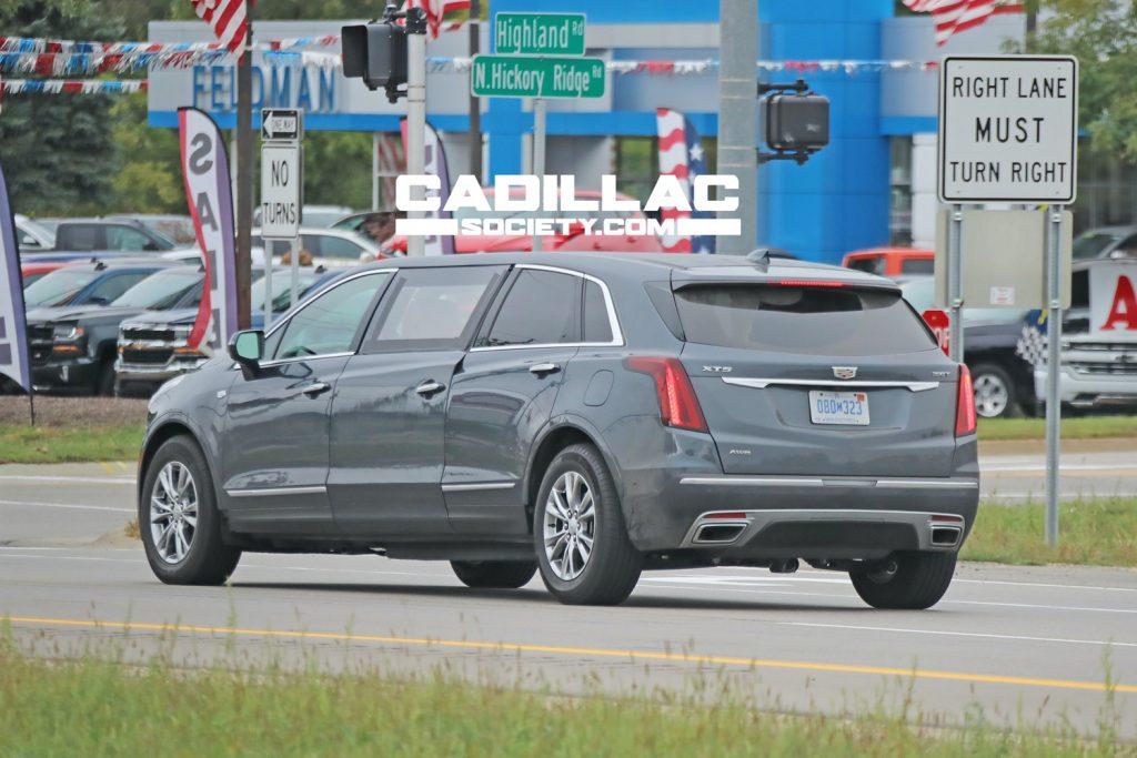 Cadillac XT5 limousine