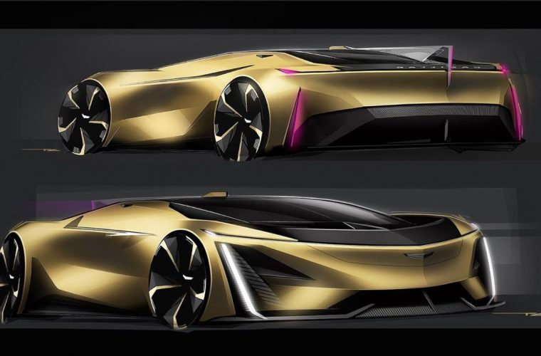 Check Out This Wild Cadillac Supercar Rendering