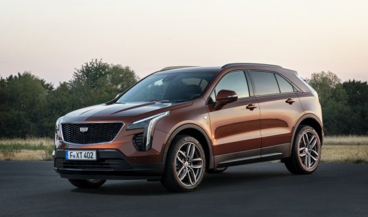 Euro-Market Cadillac XT4 Will Wear 350D Badge
